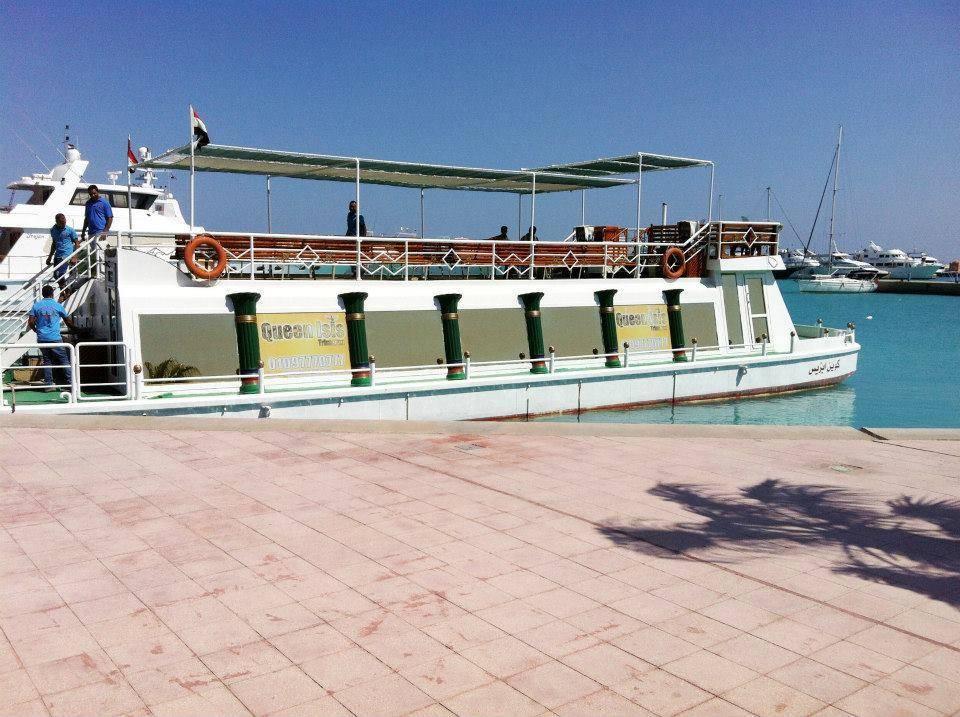 www.wycieczki-hurghada.pl Statek ze szklanym dnem Queen Isis